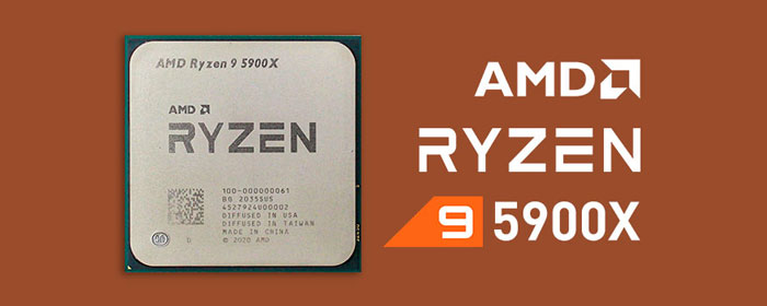 CPU AMD RYZEN 9 5900X